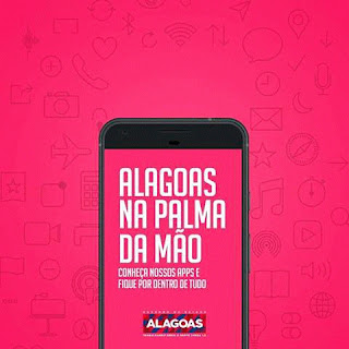 governo de Alagoas lança aplicativos