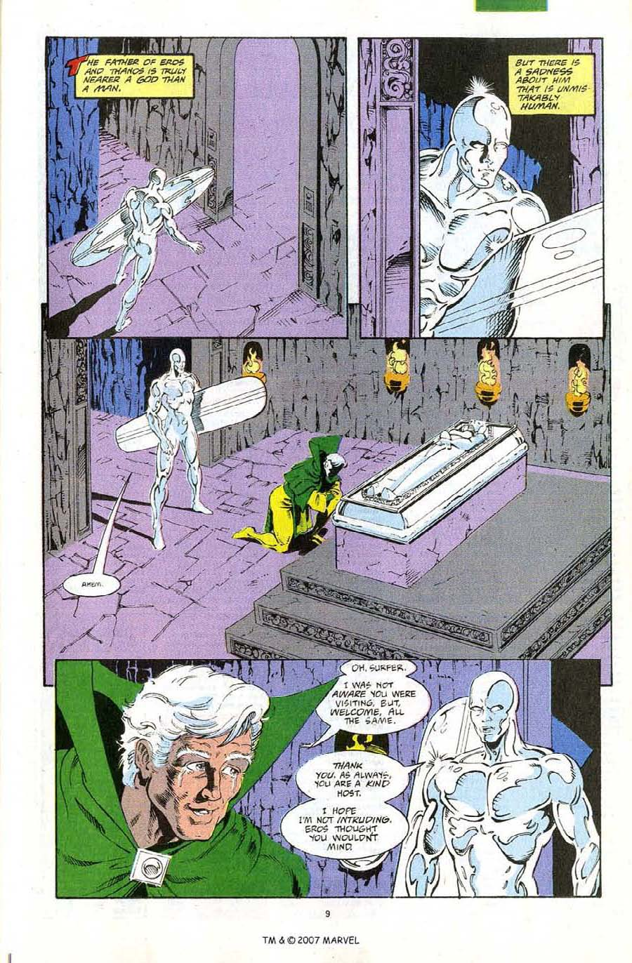 Read online Silver Surfer (1987) comic -  Issue #67 - 11