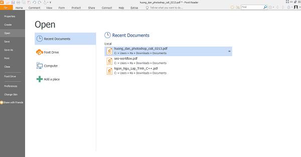 Download Foxit Reader Mới Nhất - Phần mềm đọc file PDF miễn phí nhẹ nhất b