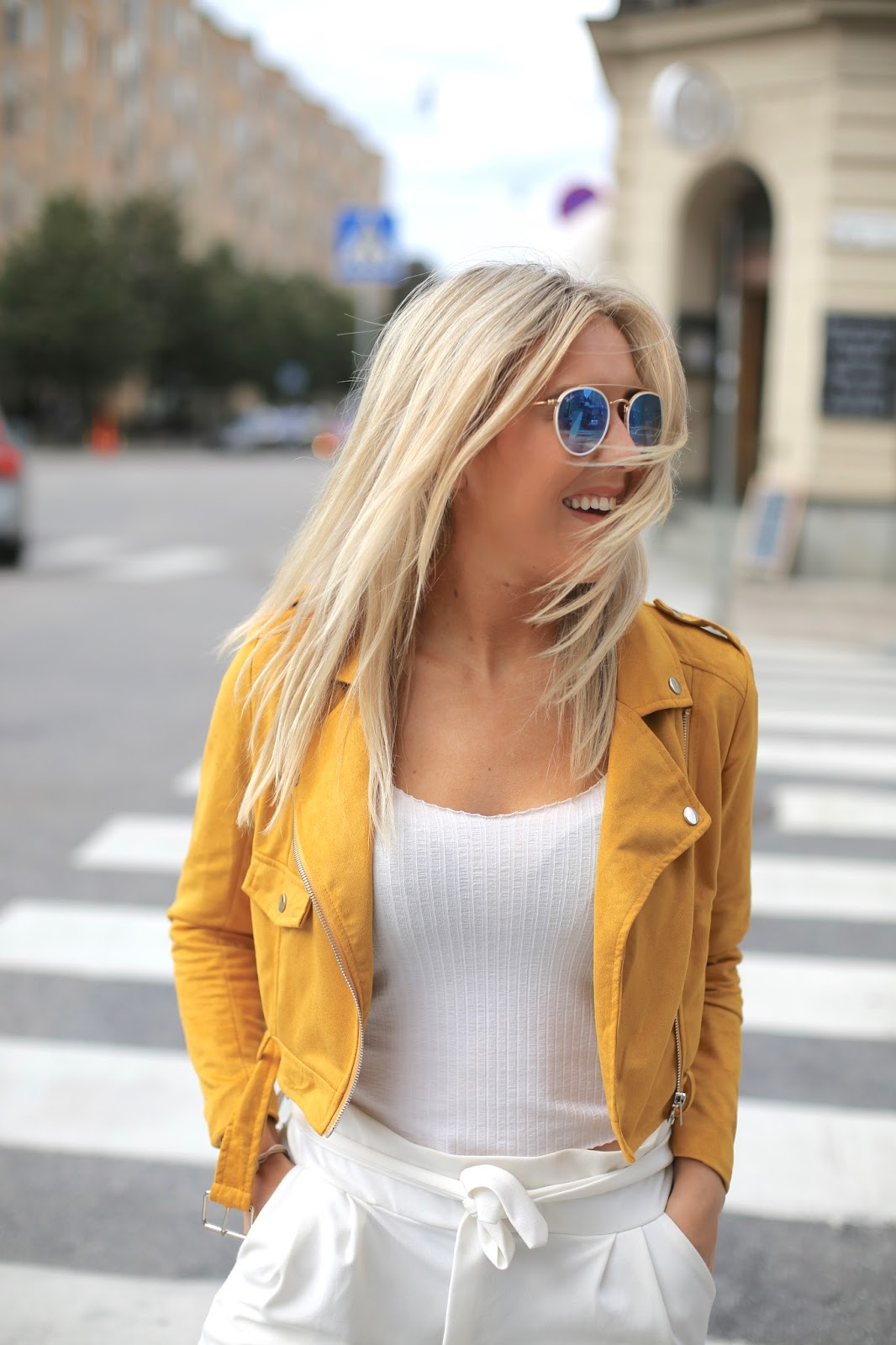mustard suede missguided jacket