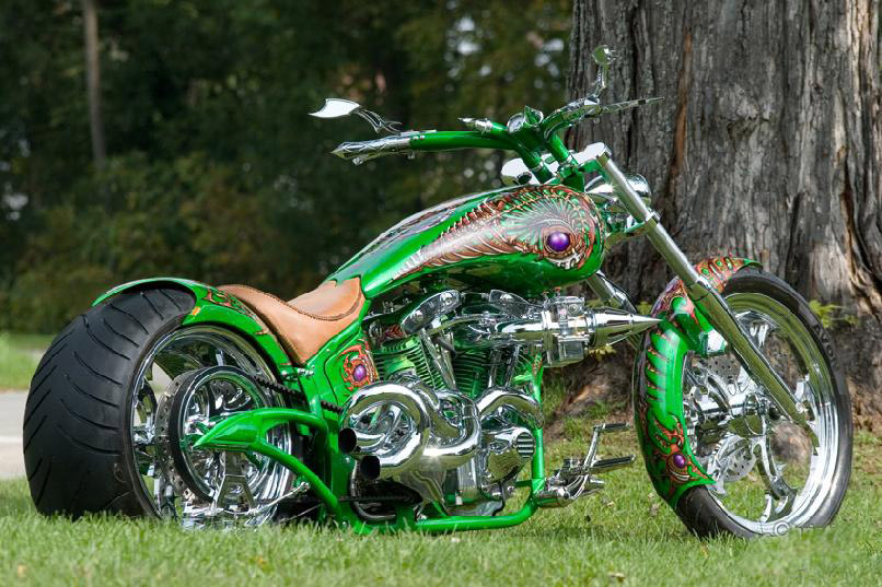 USA Auto Transport: American Chopper bikes