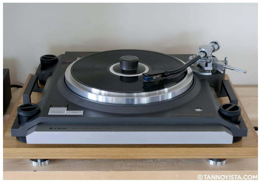 Front of the TRIO KENWOOD L-07D Turntable - Tannoyista.com