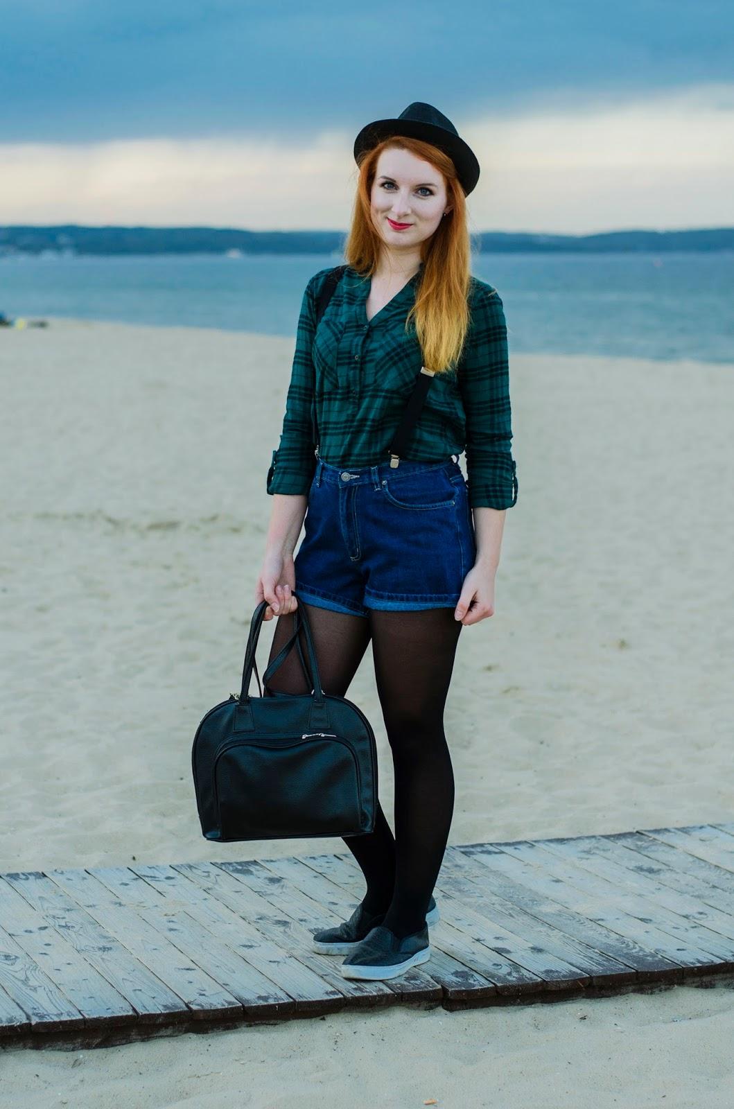 Morze jesienią, koszula w kratkę i skoki do nieba!