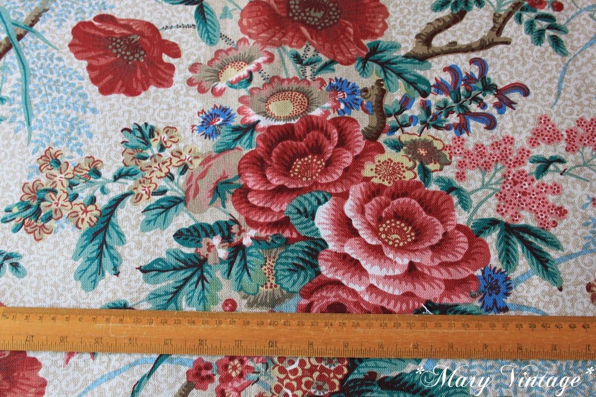 Mary Vintage Tessuti Vintage Inglesi