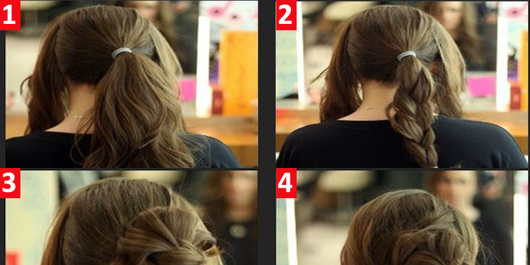 Fantastic Fast Easy Long Hair Updos Short Hair Fashions Hairstyles For Women Draintrainus