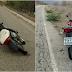 Bandidos abandonam duas motos após assalto na CE-265 em Catunda