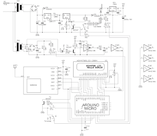 Arduino Mains Monitor with SIM900A GSM messaging.