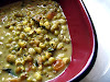 Spicy Mung Bean Soup with Coconut Milk