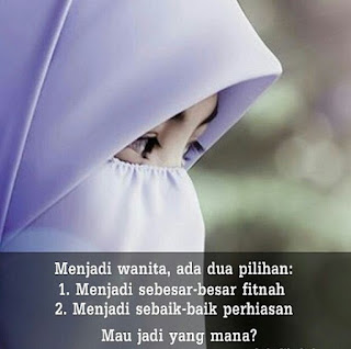 dp bbm islami untuk wanita solehah