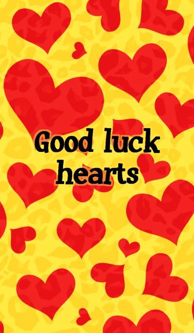Good luck hearts