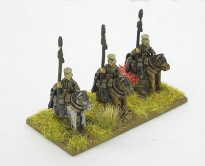 12 Cavalry miniatures