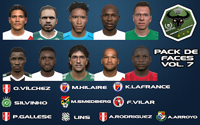 PES 2016 Facepack Vol.7 by Tarcisio Facemaker