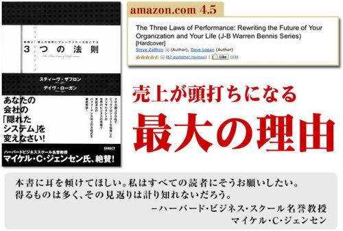 ダイレクト出版の本【リーダーシップ】パフォーマンスアップ3つの法則
