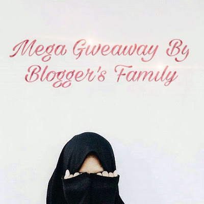 Mega Giveaways By Bloggers' Family 2016