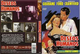Carátula de Dvd Deseos humanos 1954