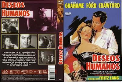 Carátula de Dvd: Deseos humanos (1954) Human Desire
