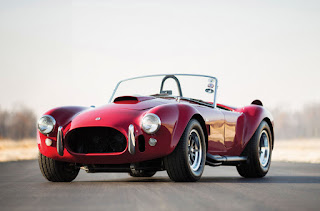 1965 Red Shelby Cobra Special Car