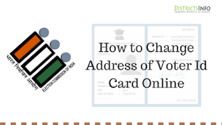 How to Change Address of Voter Id Card Online