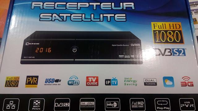الوافد الجديد للشركة الجزائرية ENIE,ENIE 710 FHD,كل ما تود معرفته حول الوافد الجديد للشركة الجزائرية enie ,WIFI و 3G,مخرج HDMI, مدخلين USB,شركة ENIE الجزائرية,IPTV , سيرفر GS-CAM, دنجل داخلي,