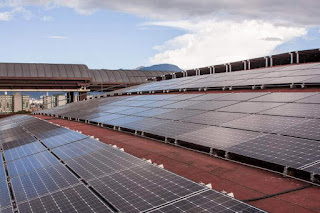 paneles solares Plaza de las americas