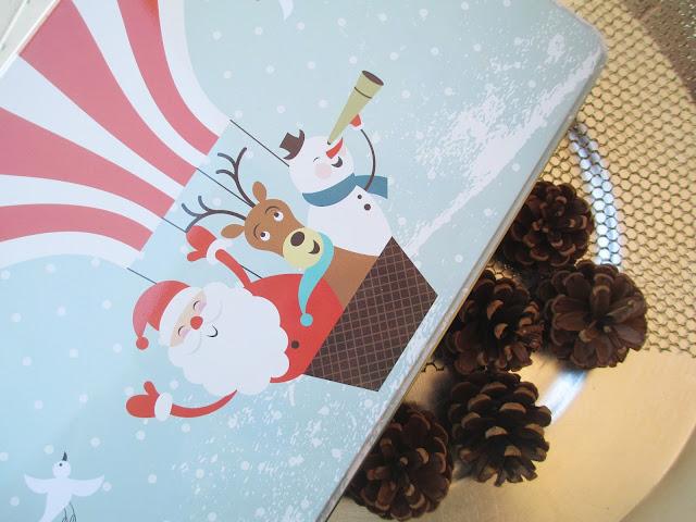 Caja de galletas de Navidad de DIA