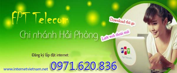 Lắp Đặt Internet FPT Phường Hải Thành