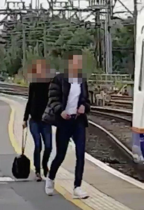 Hackney downs man clarting fucking at train station wvmvision - 5 2
