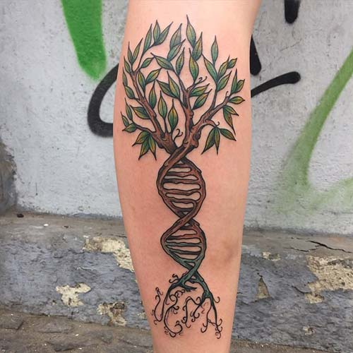 ağaç dövmeleri tumblr tree tattoos 2
