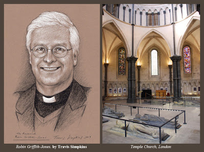 Robin Griffith-Jones. Master of the Temple. Temple Church, London. by Travis Simpkins
