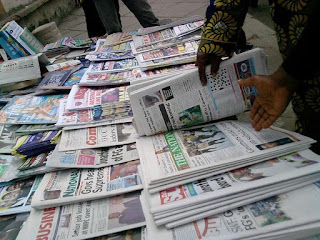 Latest Nigerian Newspapers Headlines For Today, Wednesday, July 12, 2017