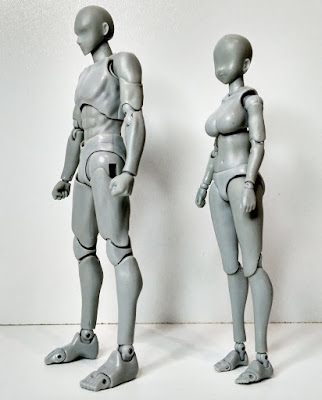 Review de S.H.Figuarts Body-kun y Body-chan DX Set - Tamashii Nations