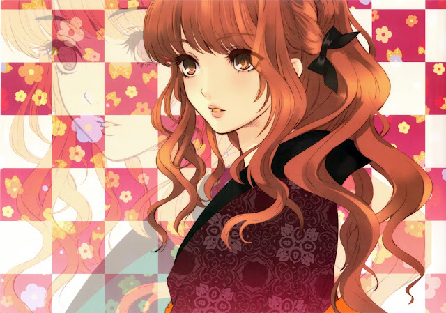 Cute Anime Girl With Brown Hair And Hazel Eyes Hairstyle Girls