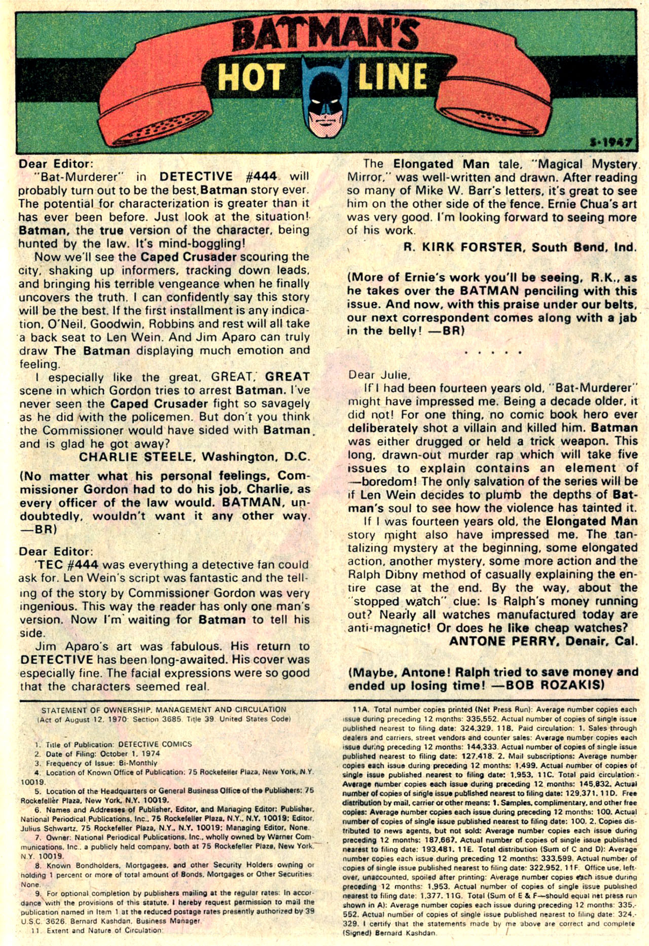 Detective Comics (1937) 447 Page 31