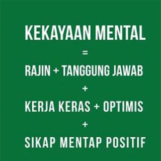 Gambar kata-kata mutiara kekayaan mental untuk dp bbm