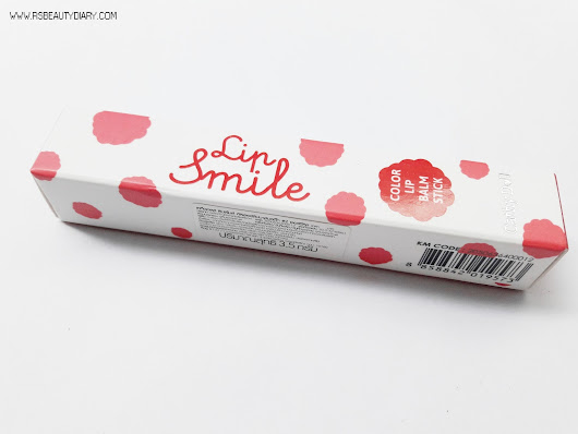 R's Beauty Diary ♥: REVIEW: Cathy Doll Lip Smile Color Lip Balm Stick