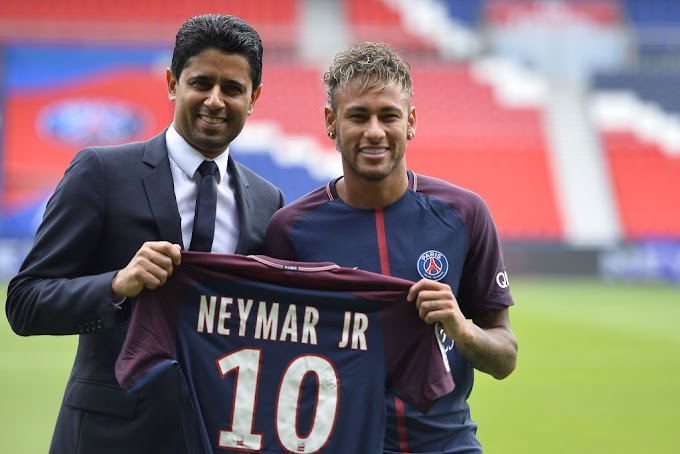 Leaked documents reveal Footballer, Neymar, earns €100,000 a day i.e €4,000 an hour or €66 a minute