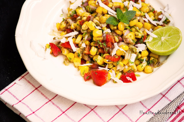 Chatpata Corn corn salad recipe