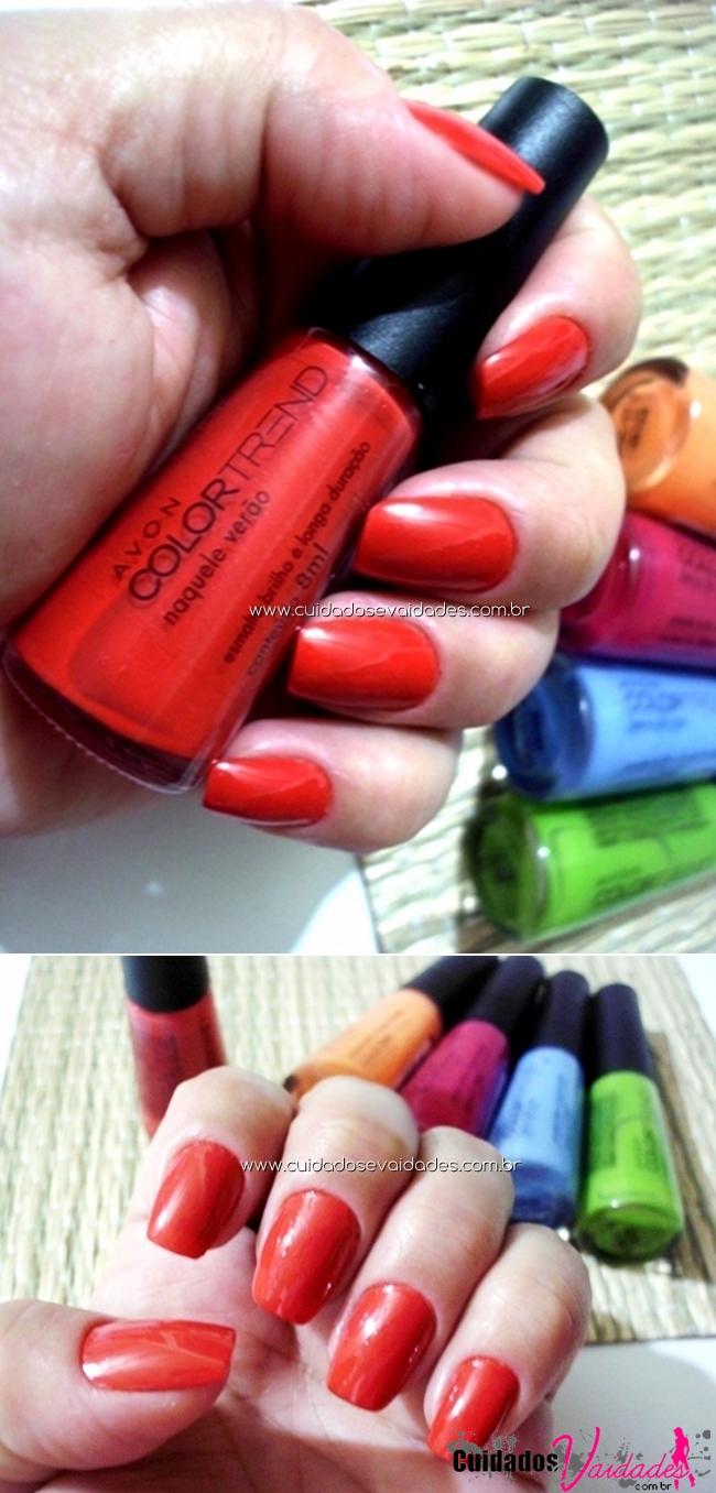 Avon Color Trend Naquele Verão