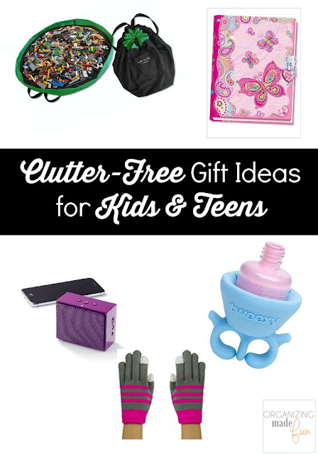 Clutter-Free Gift Ideas for Kids & Teens