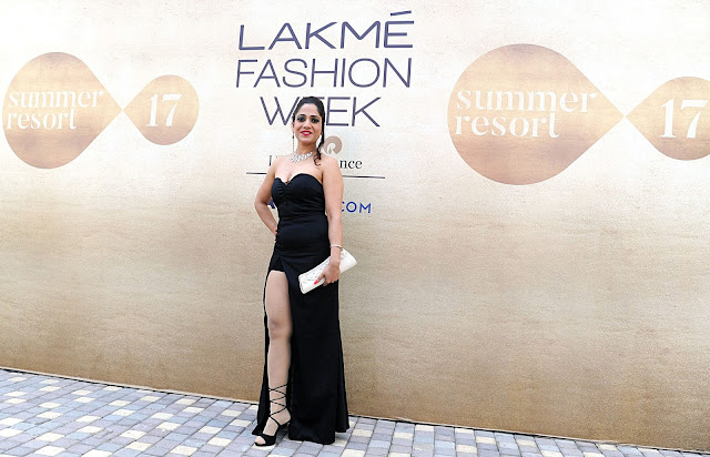 Neha Banerjee at Lakme Fashion Week 2017