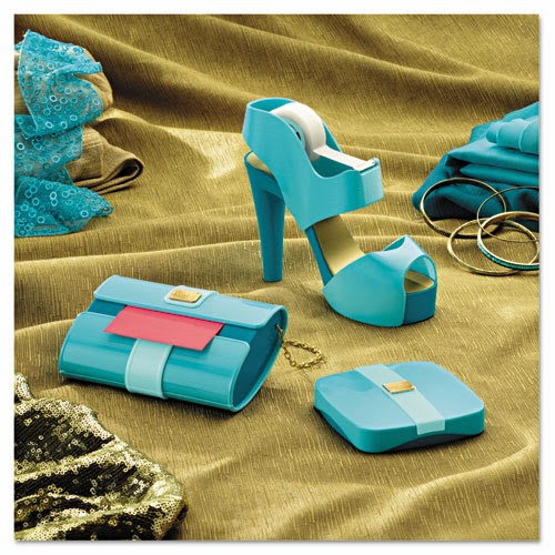 tiffany blue office. A Tiffany Blue Stiletto Shoe Tape Dispenser And Clutch Leopard IPad Cover. Remember Those Awful Shoulder Pads From The 1980s? Office