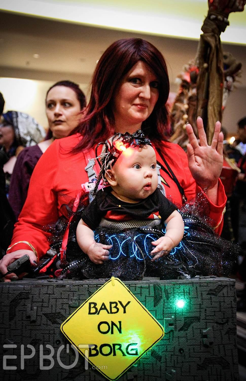 "Star Trek: The Next Generation Rewatch: ""Q Who"" | Tor.com  |Borg Baby"