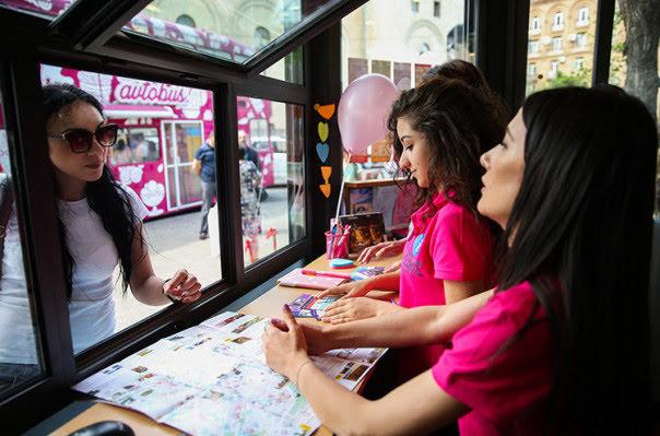 Ereván cuenta con punto de asistencia al turística
