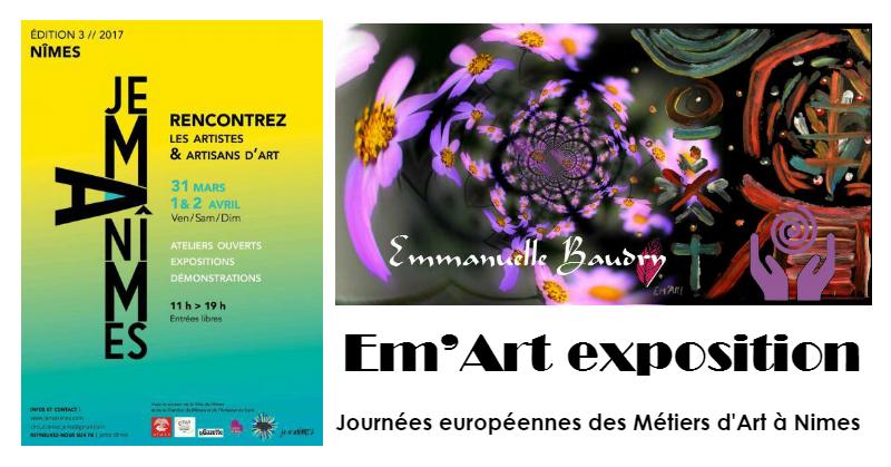 exposition Nîmes Journées européennes des Métiers d'Art
