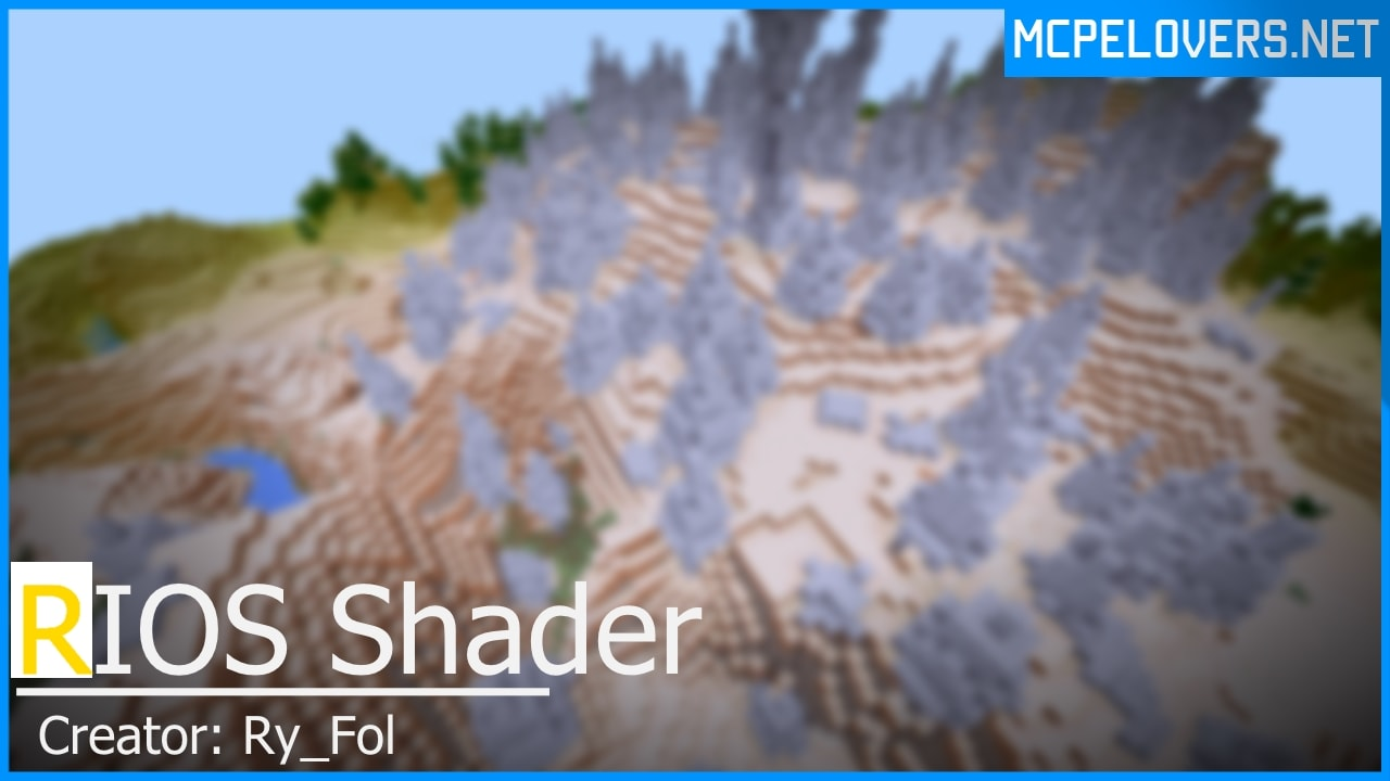 Download RIOS Shaders for MCPE v0.16x