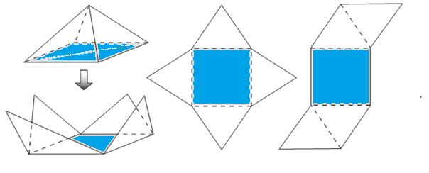 Jaring Jaring Limas Segiempat Segilima Dan Segienam Pelajaran Soal Dan Rumus Matematika Sd
