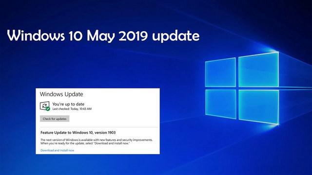 كيفية تنزيل وتثبيت تحديث ويندوز 10 مايو 2019 الان