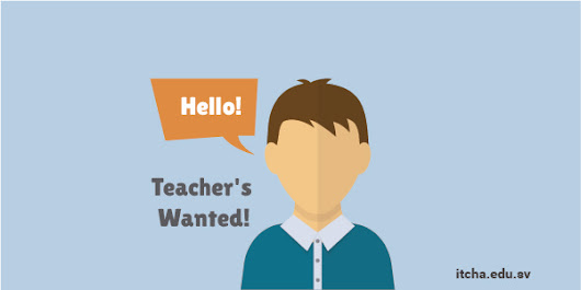Teacher's Wanted!