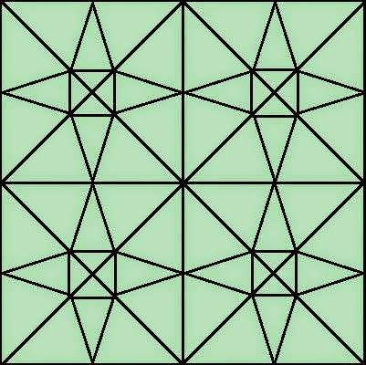 Count Number of Triangles in this picture?