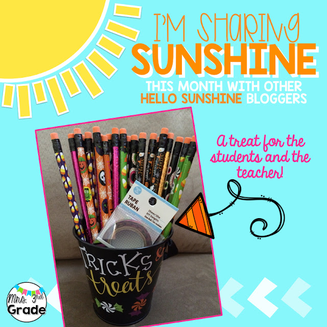 Sharing sunshine with your fellow staff members will uplift their spirits, and get them ready for the next day